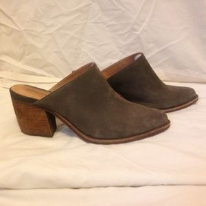Jeffrey Campbell Charcoal Mules, Size 9